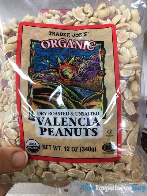 Trader Joe's Organic Dry Roasted & Unsalted Valencia Peanuts