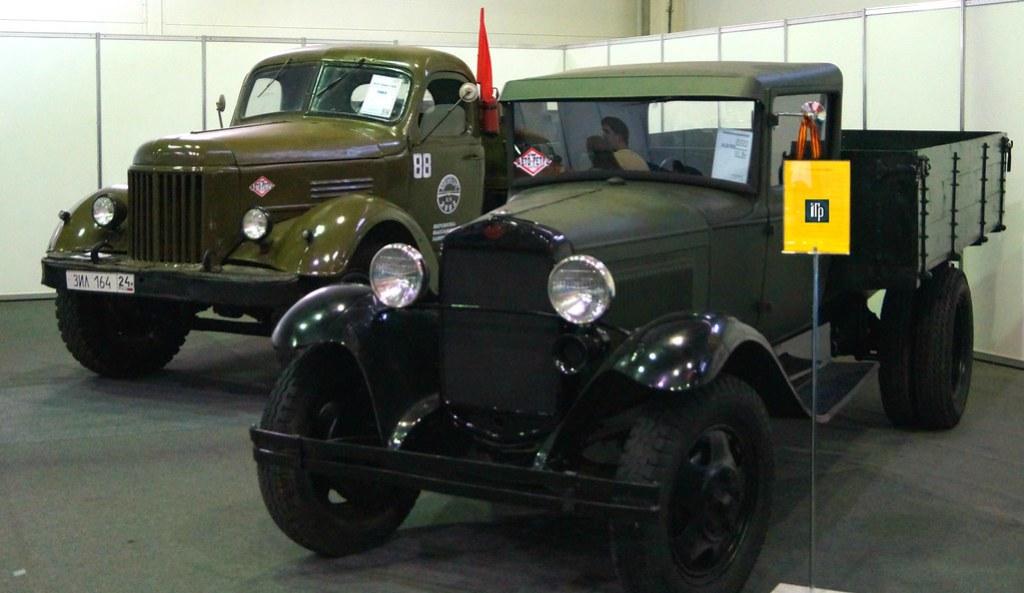 ЗИЛ-ММЗ-585Л и ГАЗ-АА