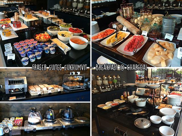 Fraser Suites Sukhumvit Breakfast