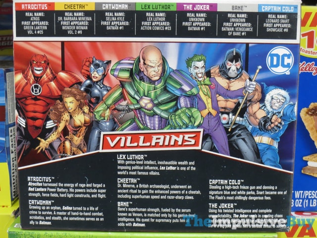 Exclusive Villains Edition Frosted Chocolate Sugar Cookie Printed Fun Pop-Tarts 2