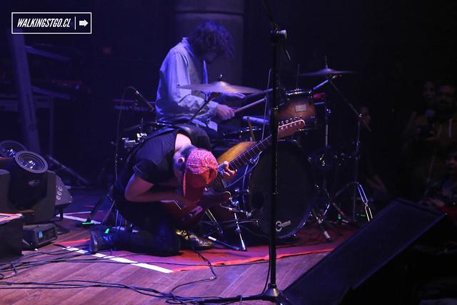 Lainus en concierto en fiesta La Roma en la Ex Oz de Santiago, Review 13.06.2015