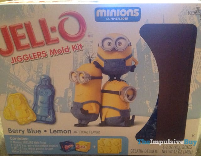 Minions Jello JIgglers Mold Kit