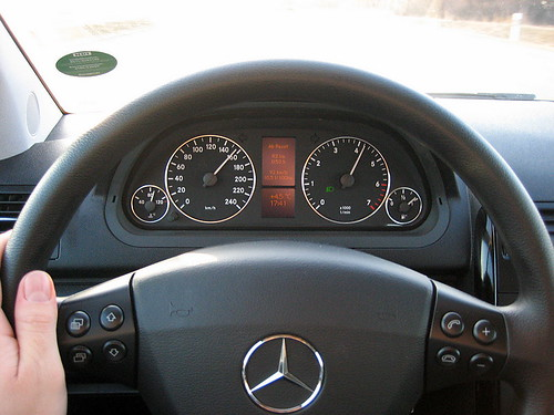Driving the A-Class