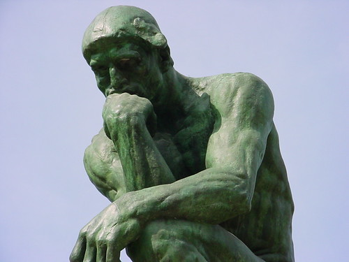 Thinker Close Up