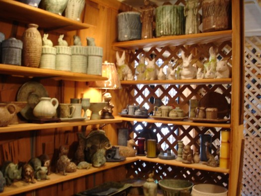 Interior at Peter's Pottery, Mound Bayou MS