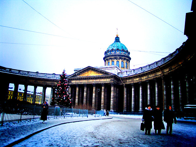 The Kazan Cathedral, Saint Petersburg