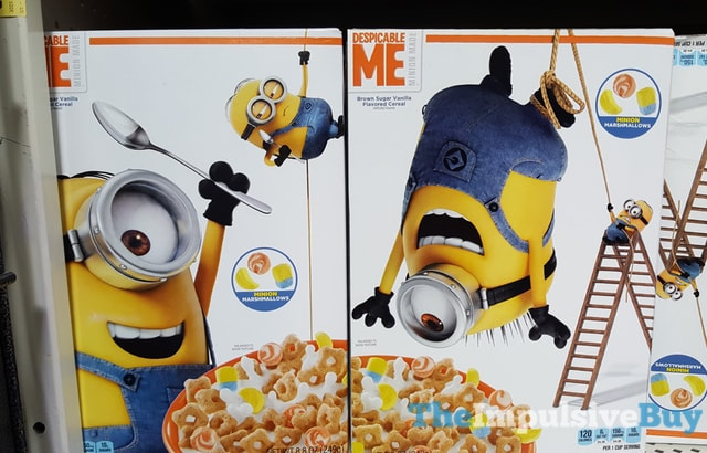 Despicable Me Minion Made Brown Sugar Vanilla Cereal
