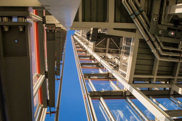Looking Up the View from the Shard