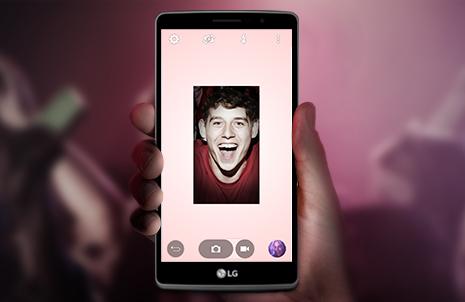 LG G4 Stylus Front Camera Light