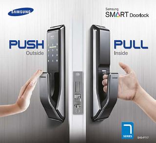 Samsung SMART Doorlock SHS-P717