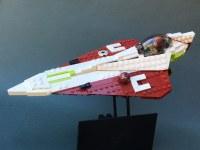 [MOC][LDD] Plo and Obi-wan's Delta-7 Aethersprite-class ...