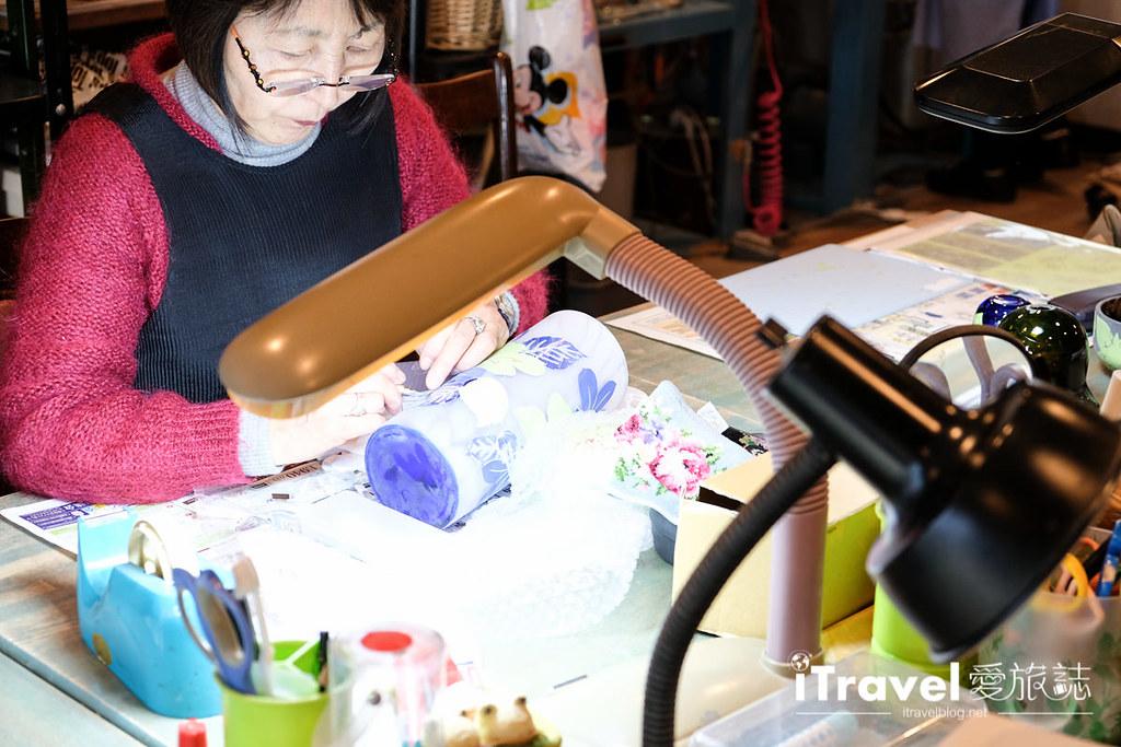 东京手作课程 喷砂玻璃工艺体验 59