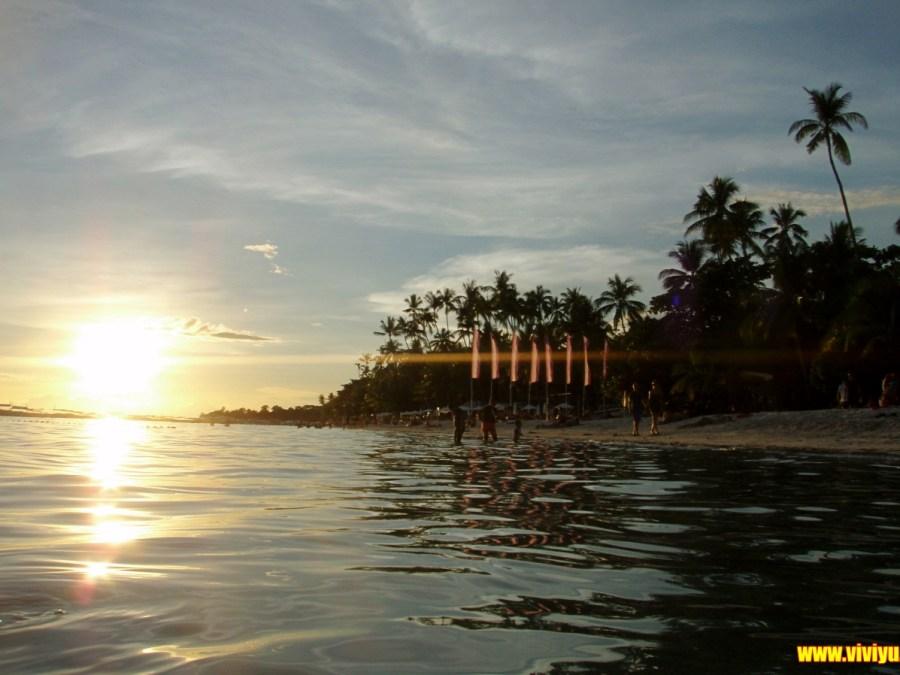 Alona beach海灘,Amorita resort晚餐,菲律賓,薄荷島 @VIVIYU小世界
