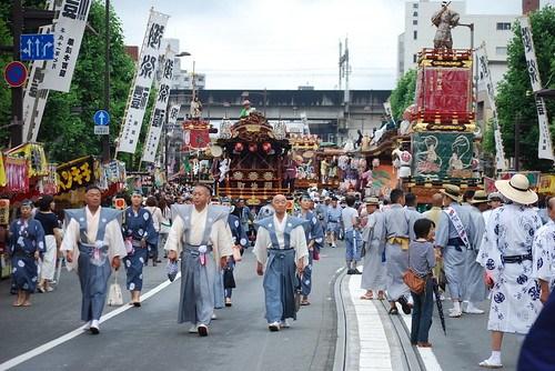 二日目昼04 - うちわ祭2016