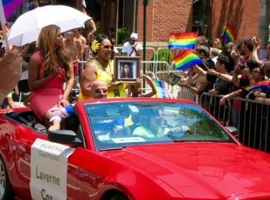 Laverne Cox - NYC Gay Pride Parade
