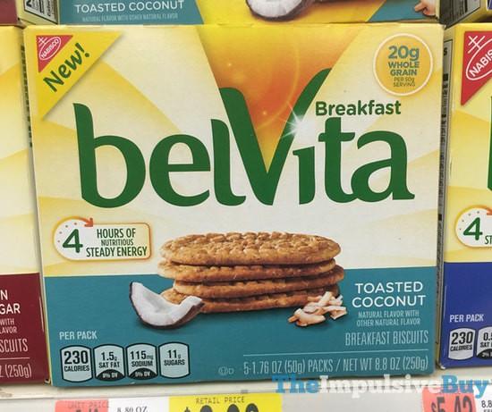 belVita Toasted Coconut Breakfast Biscuits