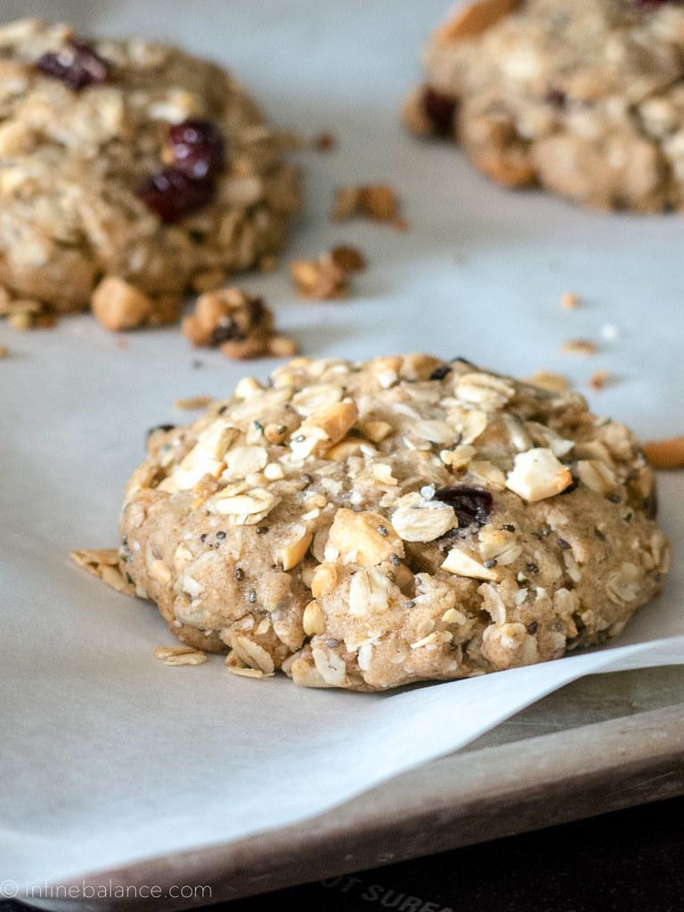 Breakfast Cookies | www.infinebalance.com #cookies #breakfast