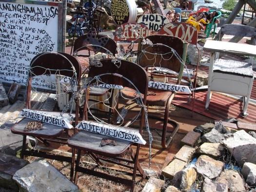 Joe Minter's African Village in America Art Environment, Birmingham AL