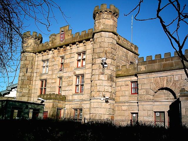Old Gatehouse Of Preston Prison Victorian Stanley St