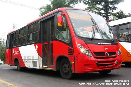 Transantiago - Redbus Urbano - Neobus Thunder / Mercedes Benz (CJRX27)
