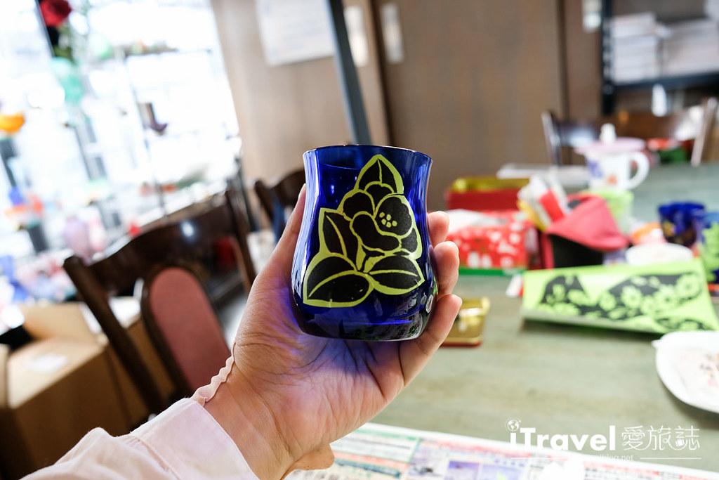 东京手作课程 喷砂玻璃工艺体验 27