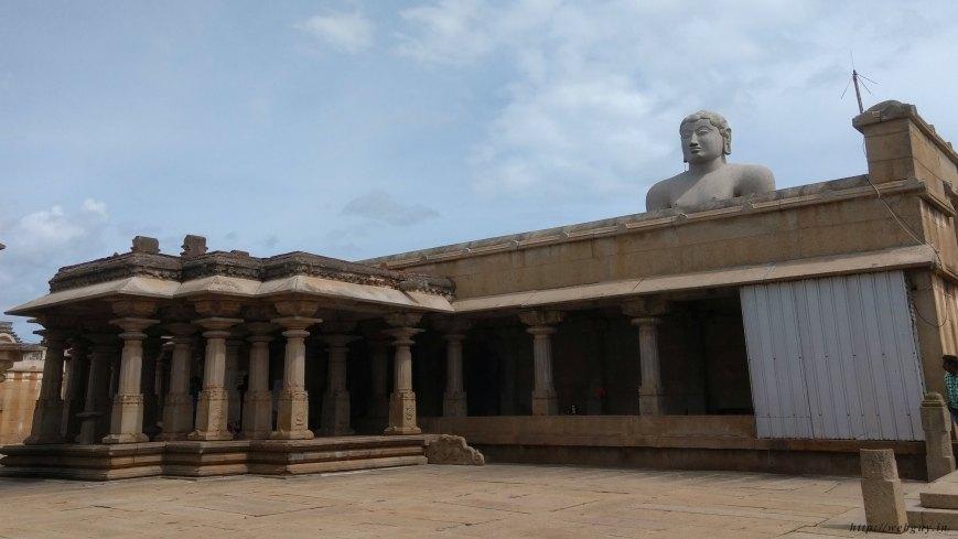 bahubali gomateshwara at shravanabelagola