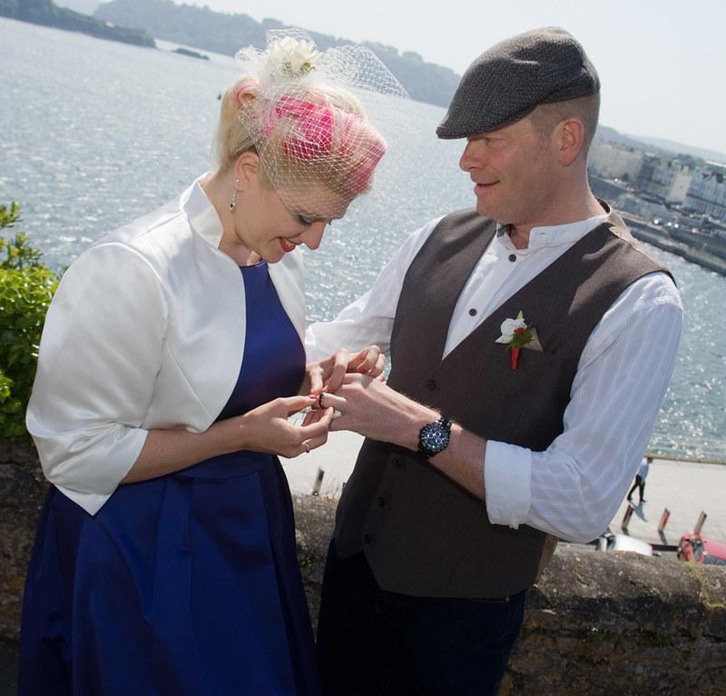 Nautical dream elopement on @offbeatbride