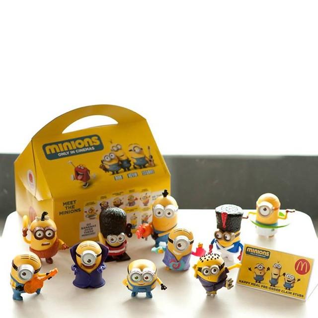 麥當勞 《歡樂兒童餐》 玩具贈品 【黃色小小兵】又來了啊!!! | 玩具人Toy People News