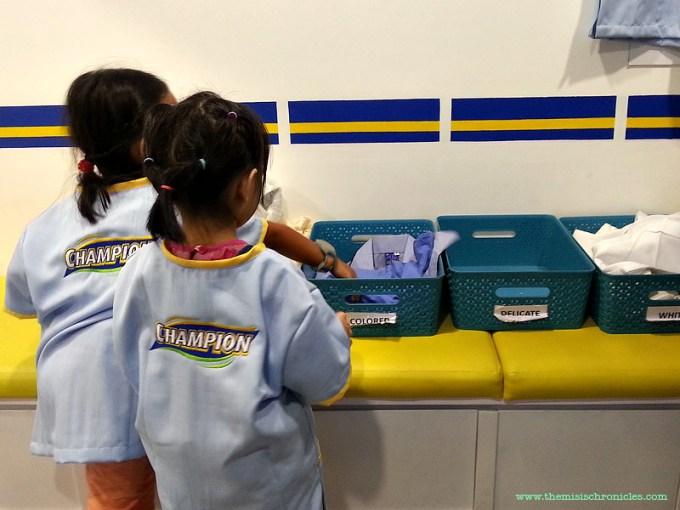 KidZania Laundromat