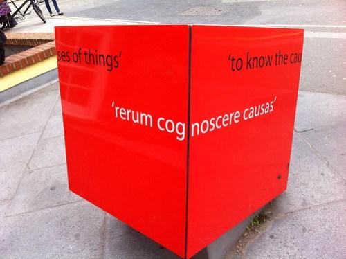 rerum cognoscere causas