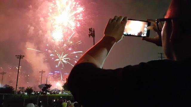 seoul // 4th of july fireworks