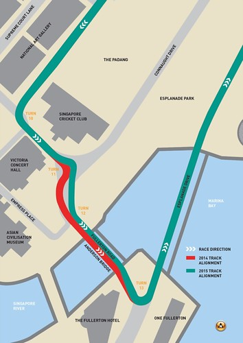 Marina Street Circuit Track Modification Illustration