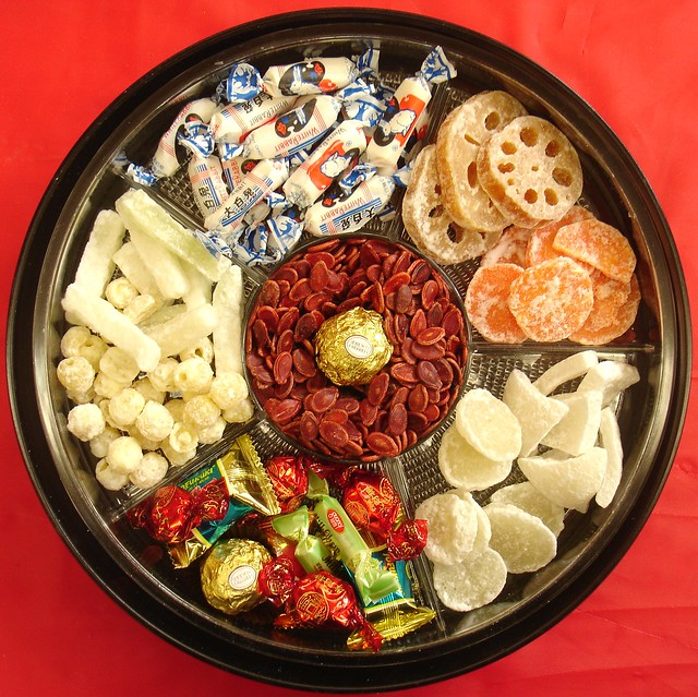 Chinese New Year candy tray