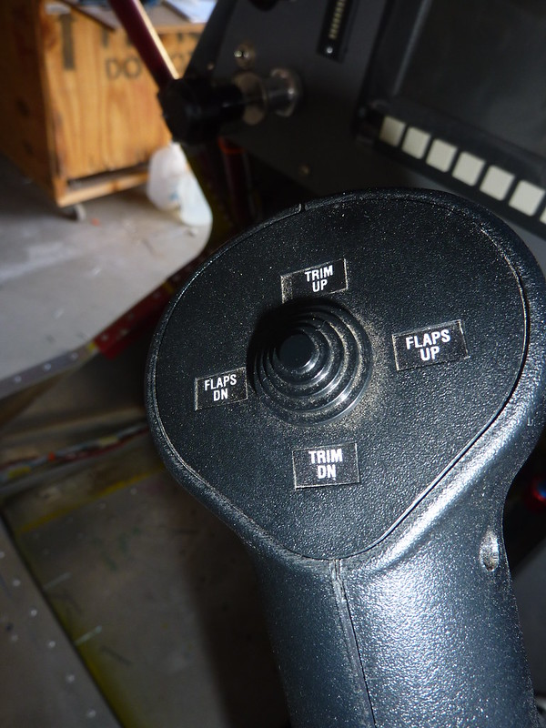 Labelled control grip