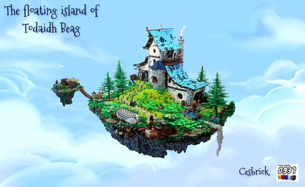 clouds hook floating islands - photo #40