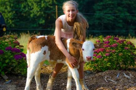 nina with calf