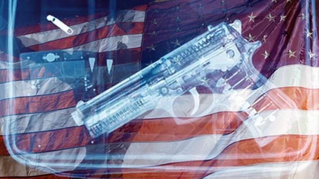 EEUU, Bandera, Pistola (Reuters \ RT)