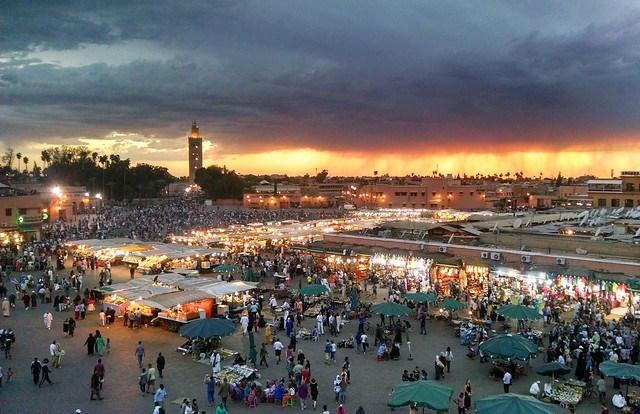 Marrakech. La gastronomía de Marruecos