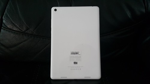 MiPad ด้านหลัง