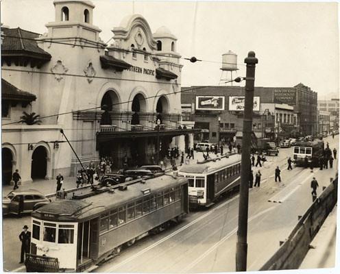 San Francisco Former Southern Pacific Depot At 3rd And