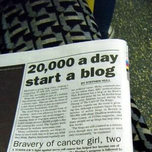 Grã-Bretanha Indo Blog Louco - Metro artigo