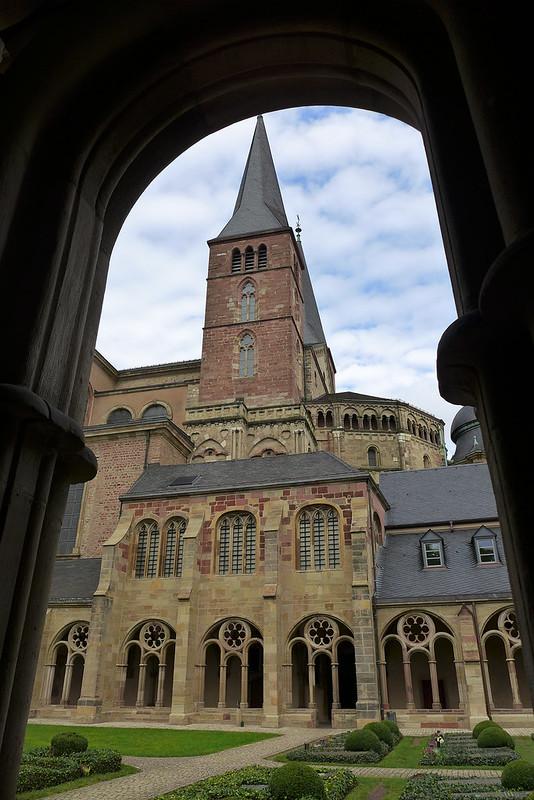 A la découverte de Trier (Allemagne) - 062 - Cloître du Dom Trier
