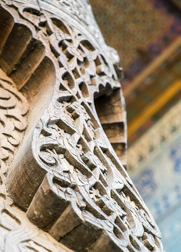 Ghanch carving in Khiva