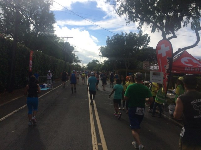 Picture from the 2016 Honolulu Marathon