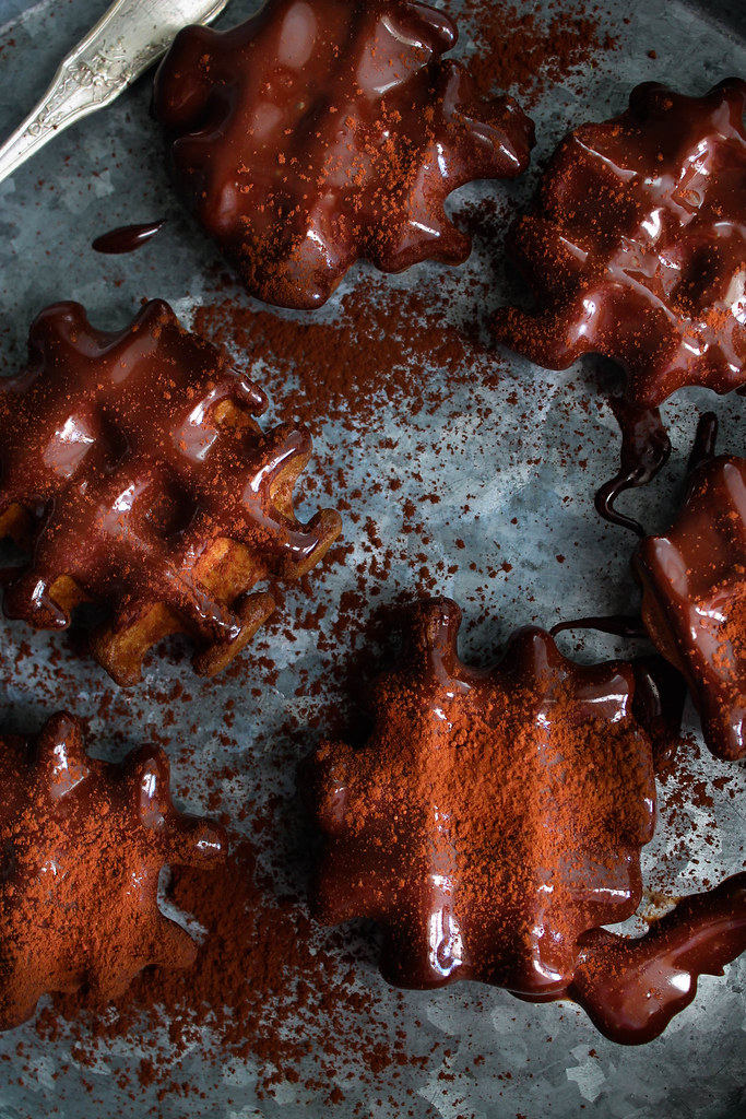 Gaufres chocolat recette
