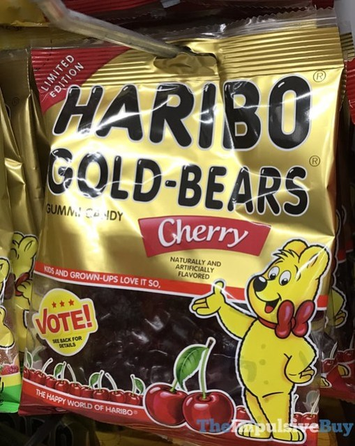 Limited Edition Haribo Gold-Bears Cherry