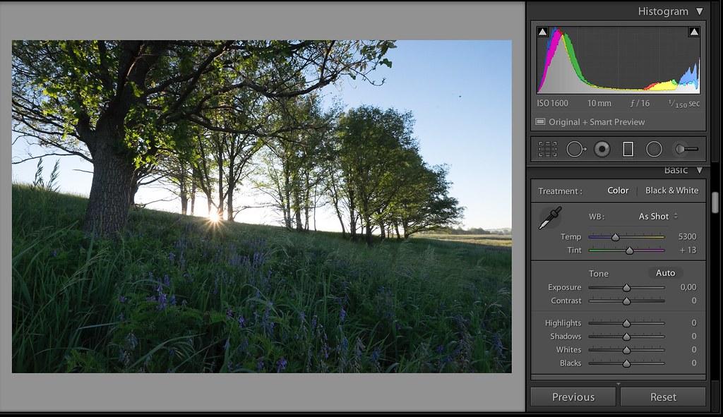 как улучшить фото в лайтруме находится живописном