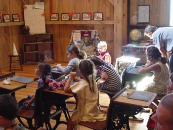 One Room Schoolhouse at Pioneer Days