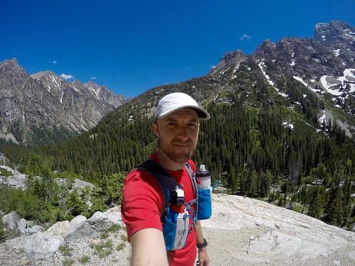Cascade Canyon in the Teton Range