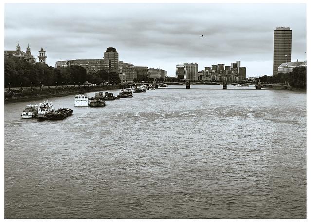 Barges, River Thames